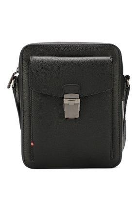 Мужская кожаная сумка gihly BALLY черного цвета, арт. GIHLY/00 | Фото 1