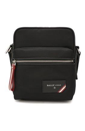 Мужская текстильная сумка faara BALLY черного цвета, арт. FAARA/00 | Фото 1 (Ремень/цепочка: На ремешке; Материал: Текстиль)