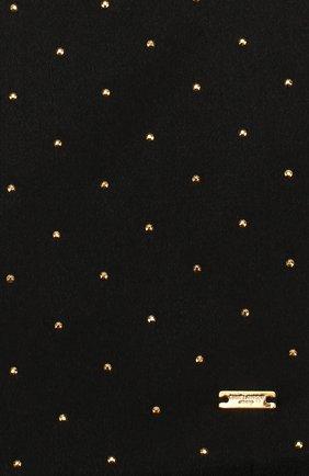 Мужской шелковый шарф SAINT LAURENT синего цвета, арт. 609522/4Y011 | Фото 2