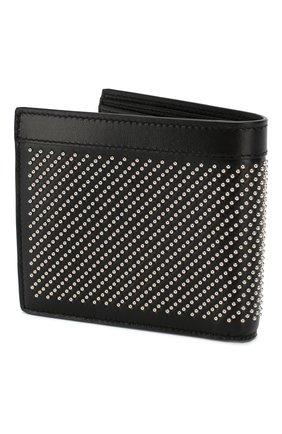 Мужской кожаное портмоне SAINT LAURENT черного цвета, арт. 361320/0VGUE | Фото 2