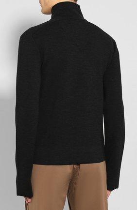 Мужской кардиган из смеси вискозы и шерсти BOTTEGA VENETA темно-серого цвета, арт. 601047/VKN30 | Фото 4