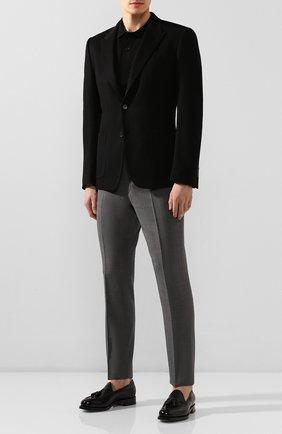 Мужской кашемировый пиджак DOLCE & GABBANA черного цвета, арт. 0101/G2KN7T/FU2AX   Фото 2