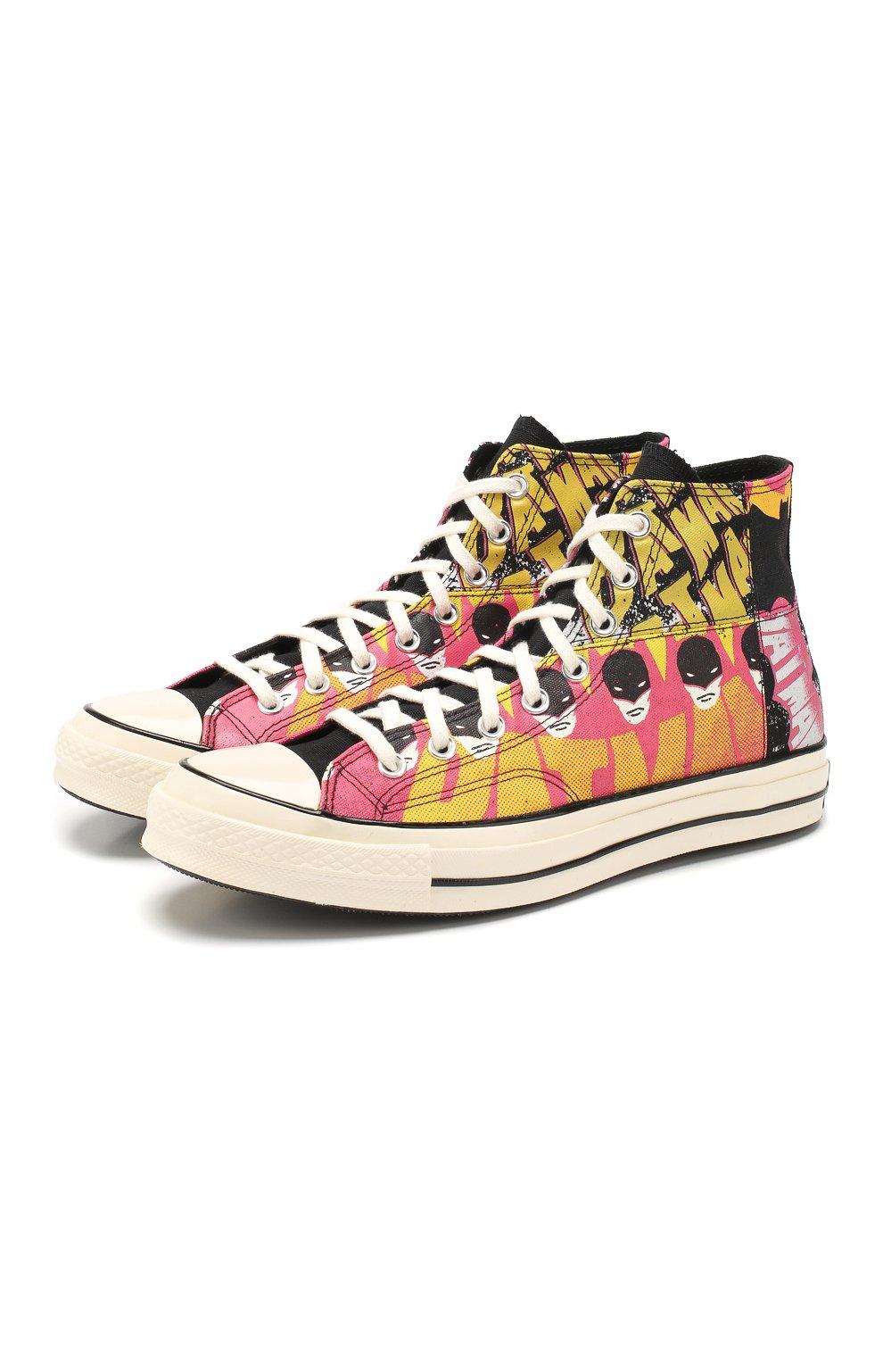 Мужские кеды converse x batman chuck 70 CONVERSE разноцветного цвета, арт. 167317 | Фото 1