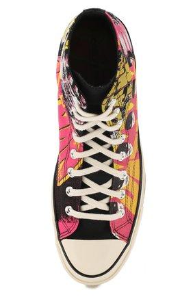 Мужские кеды converse x batman chuck 70 CONVERSE разноцветного цвета, арт. 167317 | Фото 5