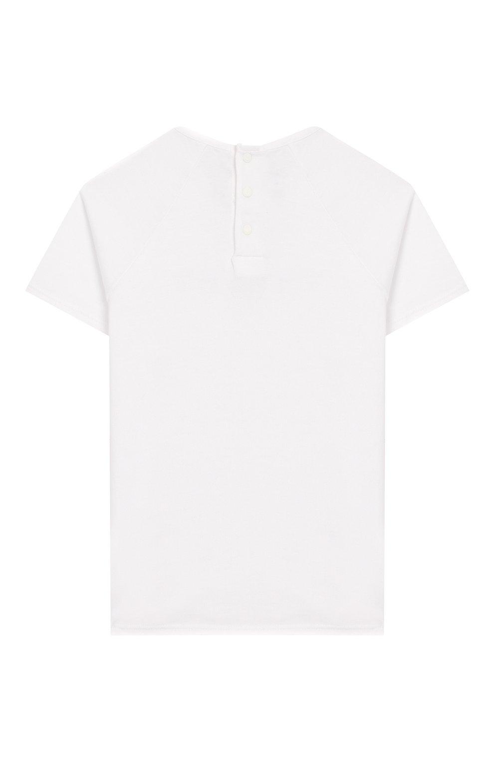 Детский футболка GIVENCHY белого цвета, арт. H05122   Фото 2