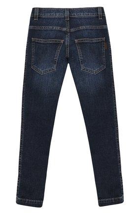Детские джинсы FENDI синего цвета, арт. JMF247/AAC4/3A-6A | Фото 2