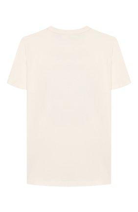Детская хлопковая футболка VERSACE белого цвета, арт. YD000138/YA00079/8A-14A | Фото 2