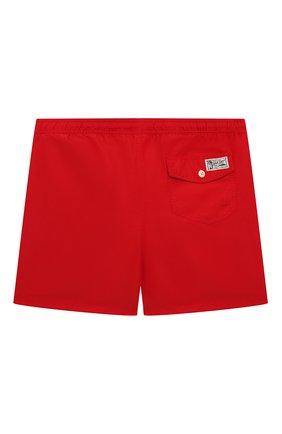 Детские плавки-шорты POLO RALPH LAUREN красного цвета, арт. 321785582 | Фото 2