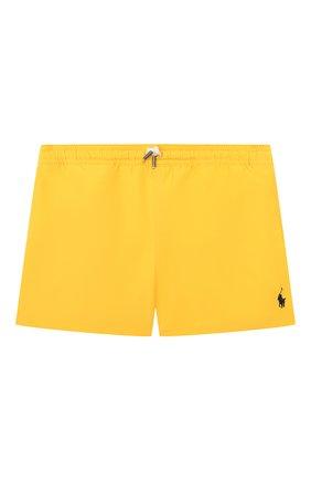 Детские плавки-шорты POLO RALPH LAUREN желтого цвета, арт. 321785582 | Фото 1