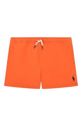 Детские плавки-шорты POLO RALPH LAUREN оранжевого цвета, арт. 321785582 | Фото 1