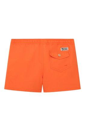Детские плавки-шорты POLO RALPH LAUREN оранжевого цвета, арт. 321785582 | Фото 2