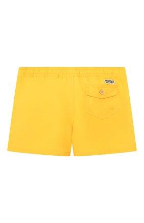 Детские плавки-шорты POLO RALPH LAUREN желтого цвета, арт. 322785582 | Фото 2