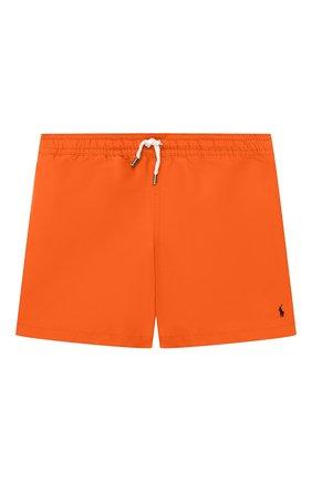 Детские плавки-шорты POLO RALPH LAUREN оранжевого цвета, арт. 323785582 | Фото 1