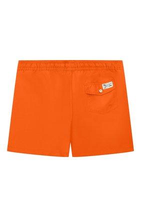 Детские плавки-шорты POLO RALPH LAUREN оранжевого цвета, арт. 323785582 | Фото 2