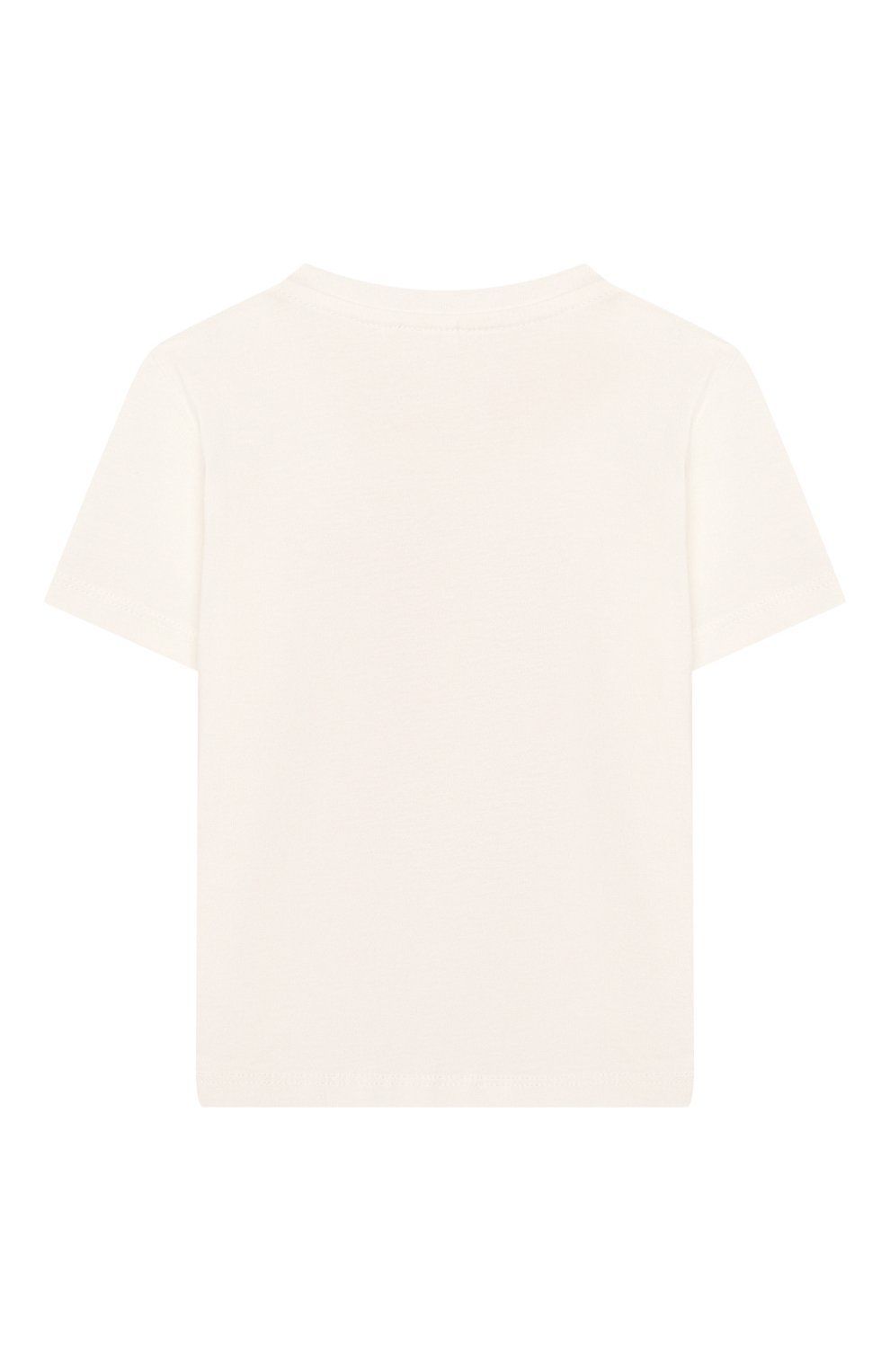 Детский хлопковая футболка STELLA MCCARTNEY белого цвета, арт. 588428/S0J07 | Фото 2