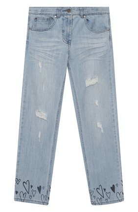 Детские джинсы STELLA MCCARTNEY голубого цвета, арт. 588599/S0K80 | Фото 1