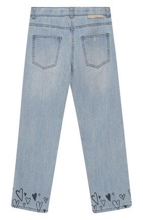 Детские джинсы STELLA MCCARTNEY голубого цвета, арт. 588599/S0K80 | Фото 2