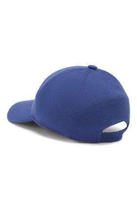 Женская кашемировая бейсболка LORO PIANA синего цвета, арт. FAF4494 | Фото 2