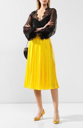 Текстильные туфли Rainbow Lace | Фото №2
