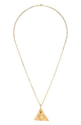 Женская кулон kressida на цепочке HERMINA ATHENS золотого цвета, арт. KPLPG | Фото 1