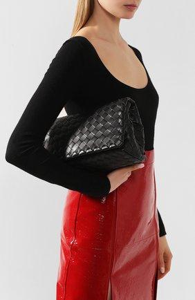 Женская сумка BOTTEGA VENETA черного цвета, арт. 600519/VCPP1 | Фото 2