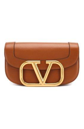 Женская сумка valentino garavani supervee VALENTINO коричневого цвета, арт. TW2B0G09/ZXL | Фото 1