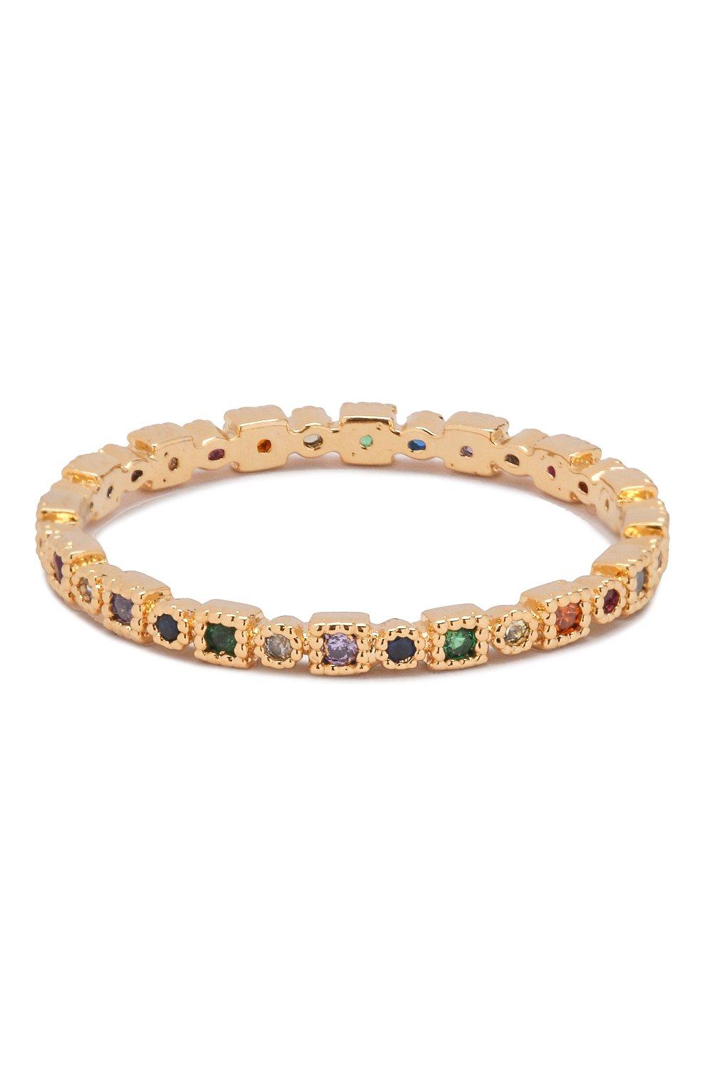 Женское кольцо multi troy GIRLS CREW разноцветного цвета, арт. R60-G-7   Фото 1 (Материал: Металл)