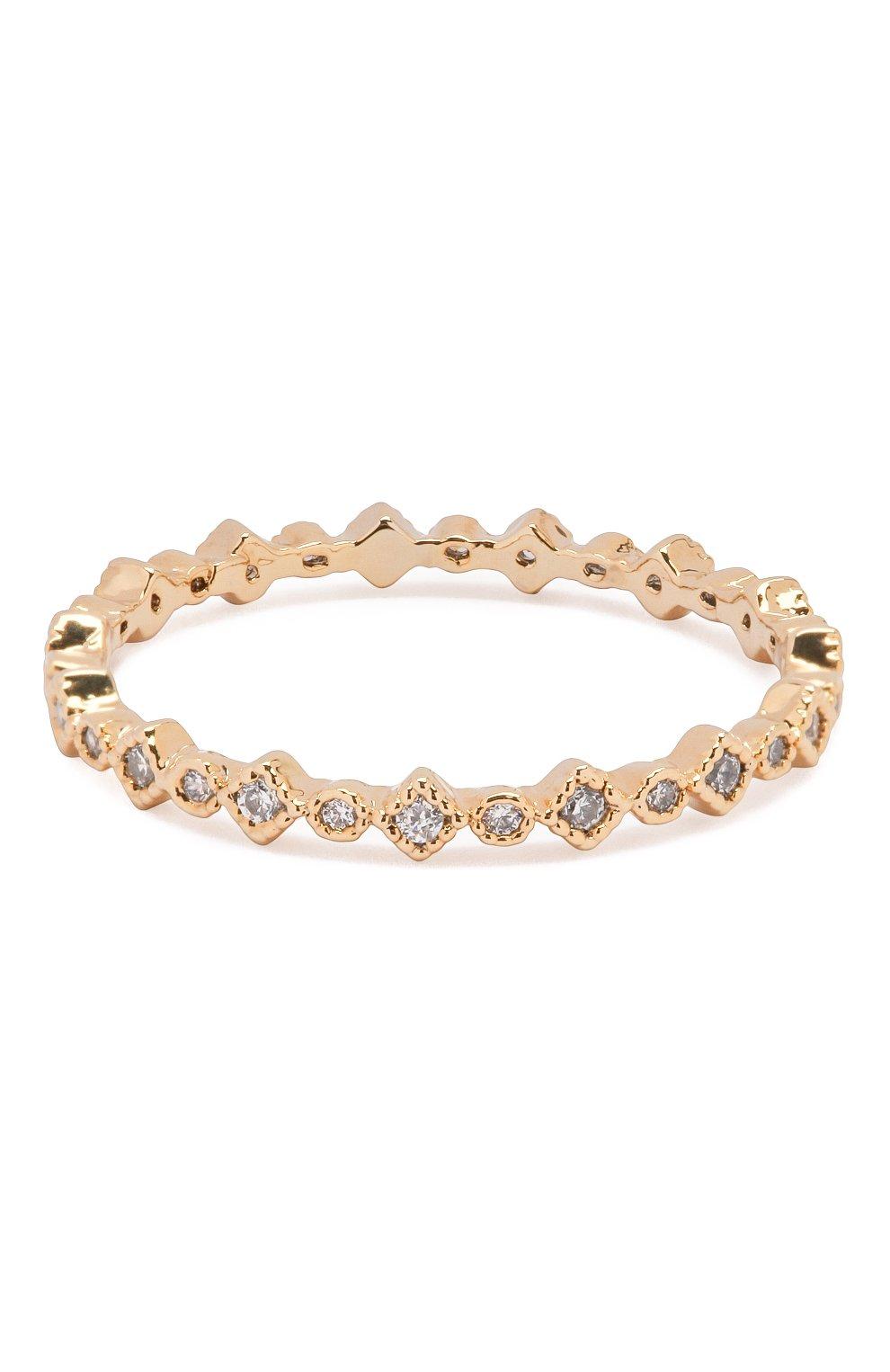 Женское кольцо cleo GIRLS CREW золотого цвета, арт. R55-G-7 | Фото 1 (Материал: Металл)