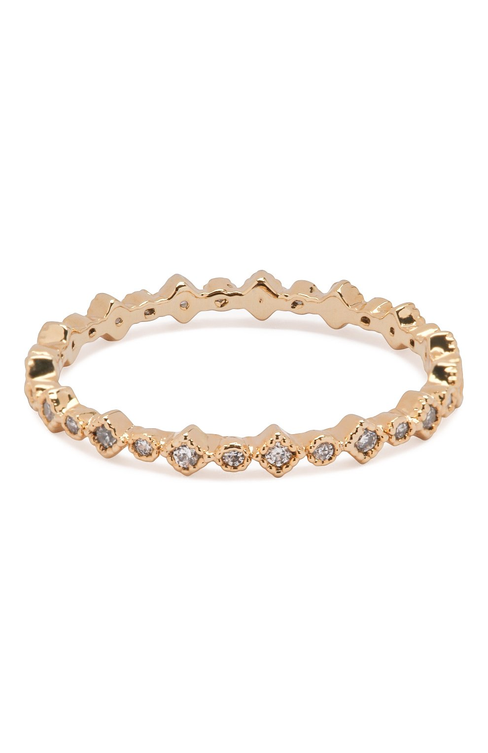 Женское кольцо cleo GIRLS CREW золотого цвета, арт. R55-G-7 | Фото 2 (Материал: Металл)