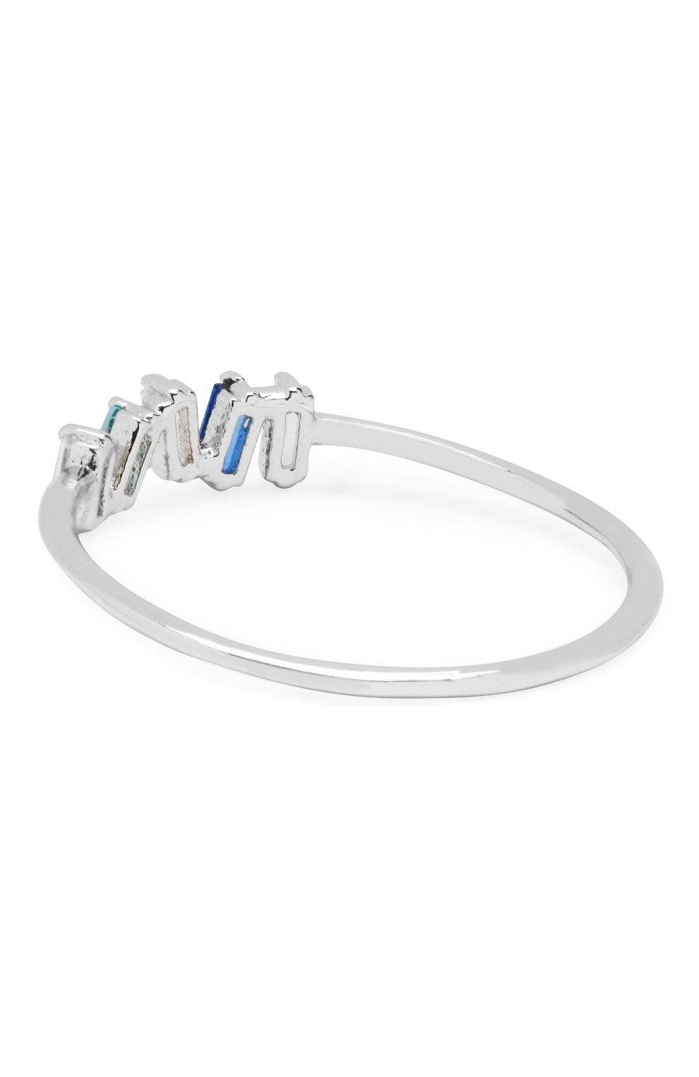 Женское кольцо surfrider GIRLS CREW серебряного цвета, арт. R48-S-7   Фото 2 (Материал: Металл)