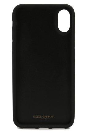 Мужской чехол для iphone x/xs DOLCE & GABBANA белого цвета, арт. BI2408/AJ761 | Фото 2