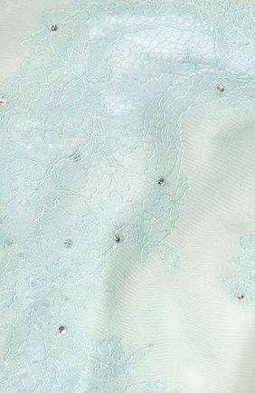 Женская шерстяная шаль VINTAGE SHADES голубого цвета, арт. 13844B | Фото 2