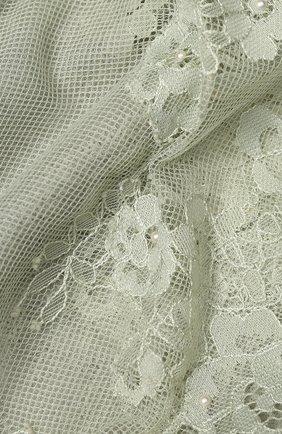 Женская шерстяная шаль VINTAGE SHADES светло-зеленого цвета, арт. 13873B | Фото 2
