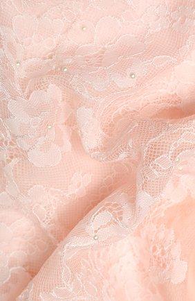 Женская шерстяная шаль VINTAGE SHADES розового цвета, арт. 13873B | Фото 2