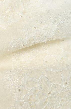Женская шерстяная шаль VINTAGE SHADES белого цвета, арт. 13873B | Фото 2