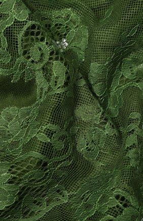 Женская шерстяная шаль VINTAGE SHADES зеленого цвета, арт. 13873G | Фото 2