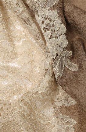 Женская кашемировая шаль VINTAGE SHADES бежевого цвета, арт. 13878 | Фото 2