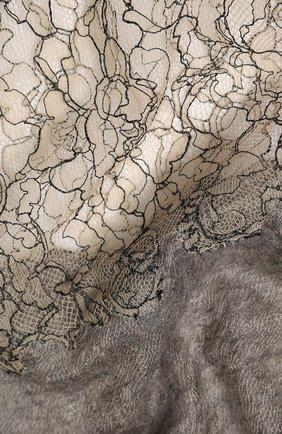 Женская кашемировая шаль VINTAGE SHADES светло-серого цвета, арт. 13900 | Фото 2