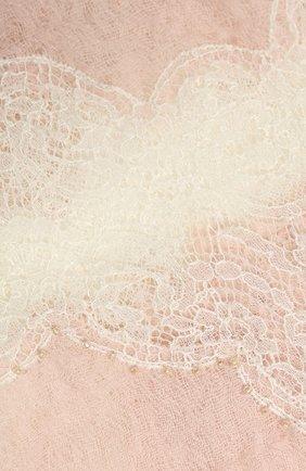Женская кашемировая шаль VINTAGE SHADES розового цвета, арт. 13940 | Фото 2