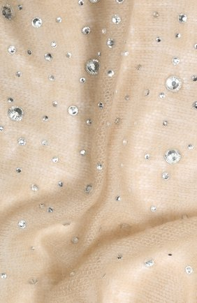 Женский кашемировый платок VINTAGE SHADES темно-бежевого цвета, арт. 13941 | Фото 2