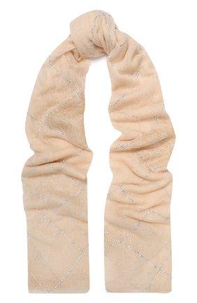 Женская кашемировая шаль VINTAGE SHADES розового цвета, арт. 13949 | Фото 1