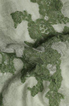Женская кашемировая шаль VINTAGE SHADES светло-зеленого цвета, арт. 13953 | Фото 2