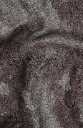 Женская кашемировая шаль VINTAGE SHADES серого цвета, арт. 13953 | Фото 2