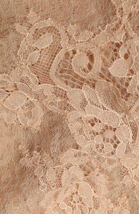 Женская кашемировая шаль VINTAGE SHADES темно-бежевого цвета, арт. 13955   Фото 2