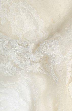 Женская кашемировая шаль VINTAGE SHADES белого цвета, арт. 13955 | Фото 2
