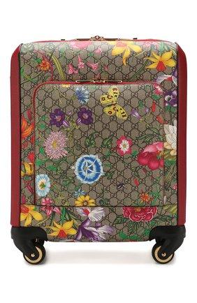 Дорожный чемодан GG Flora | Фото №1