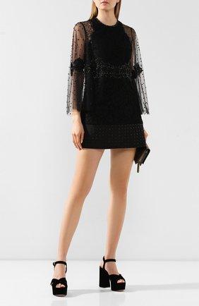 Текстильные босоножки Donna   Фото №2