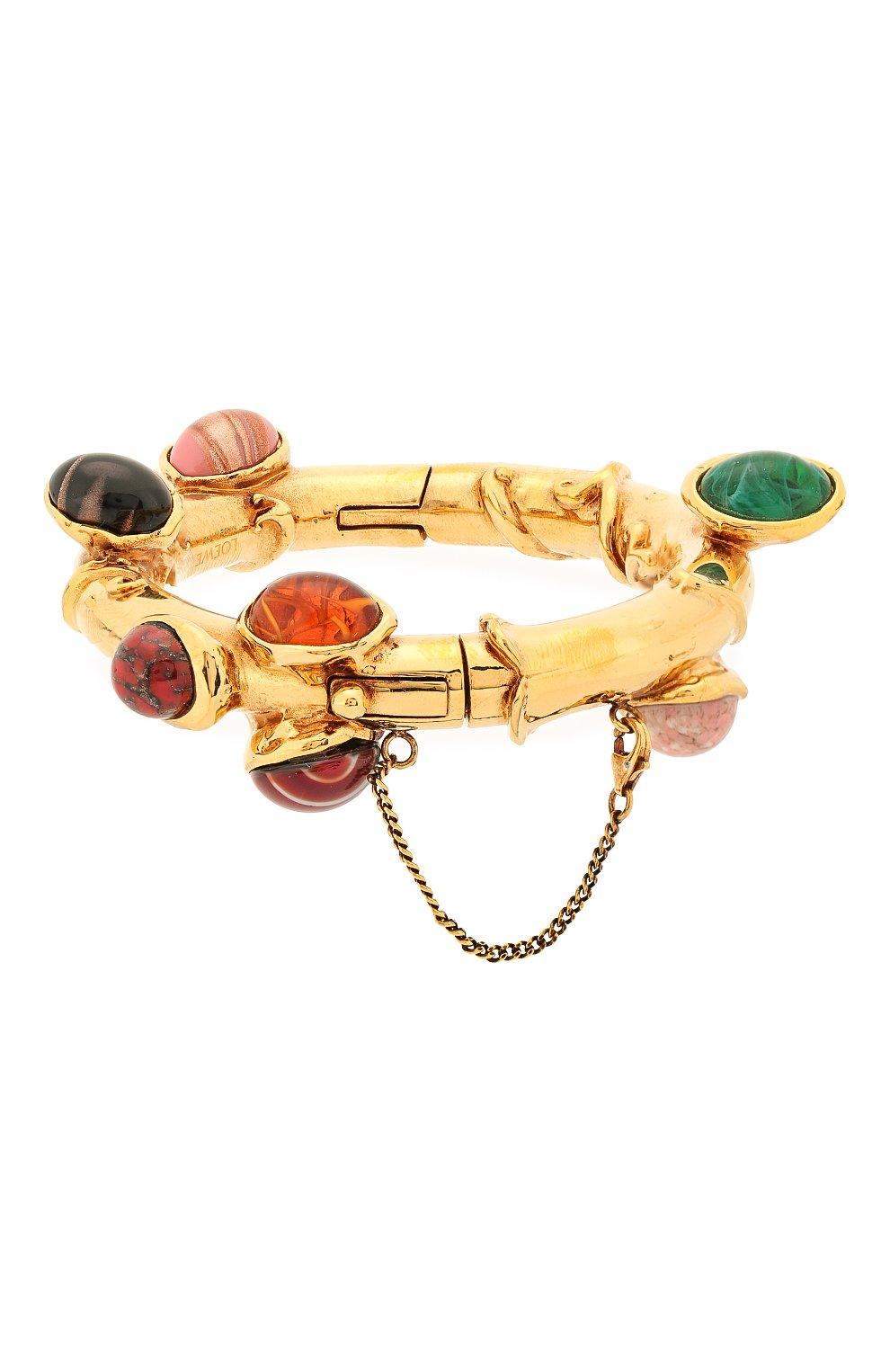 Женский браслет LOEWE золотого цвета, арт. 101.29.119 | Фото 1