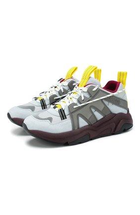 Замшевые кроссовки | Фото №1