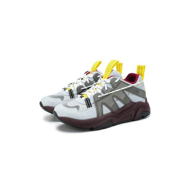 Замшевые кроссовки Ganni — Замшевые кроссовки